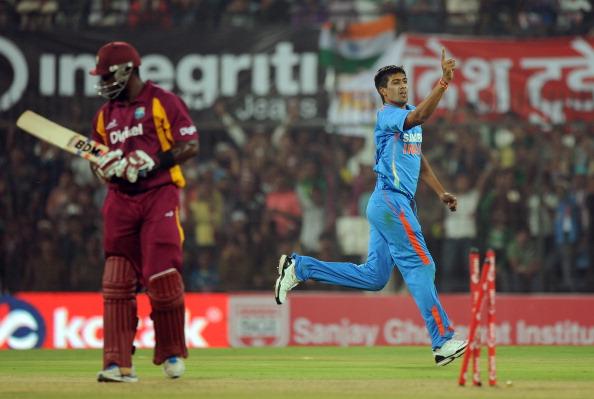 Rahul Sharma: Picked up 5 wickets for 23 runs