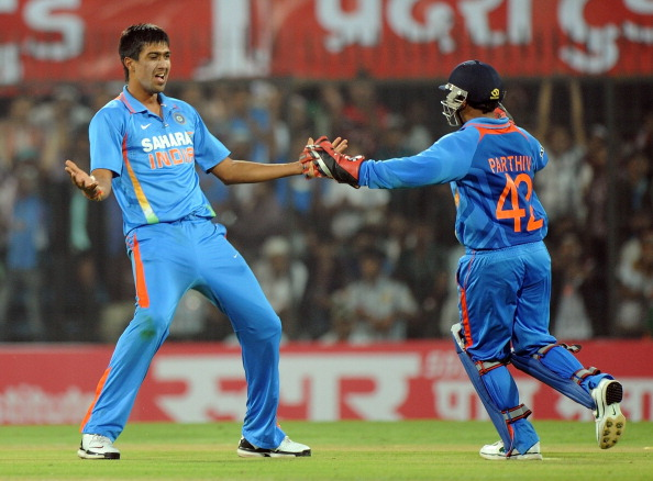 File photo: Rahul Sharma celebrating