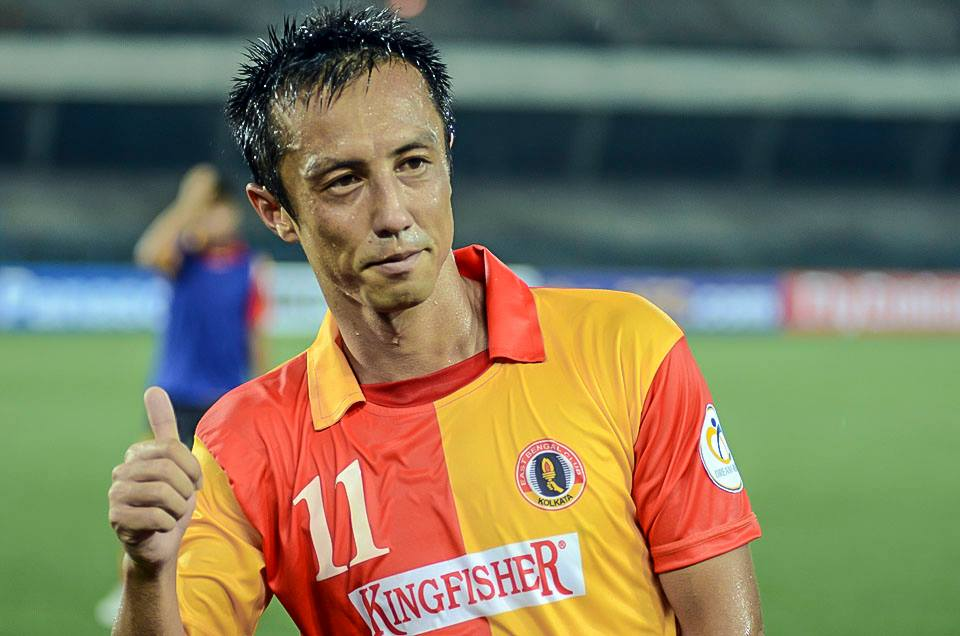 Sueoka has been ruled out of both legs of the semi-final Photo Credit: Kingfisher East Bengal
