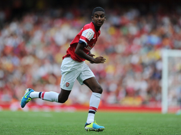 Gideon Zelalem of Arsenal during the Emirates Cup