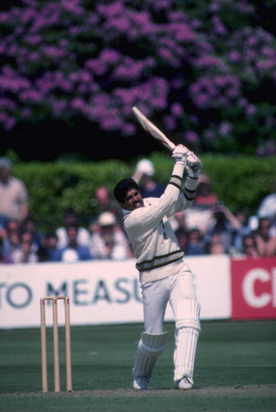 Kapil Dev during his innings of 175 not out