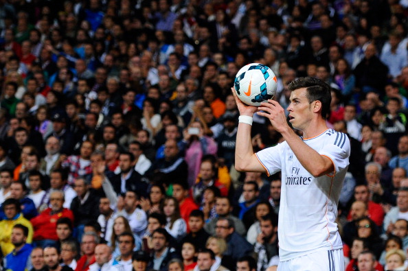 Bale in action for Real Madrid