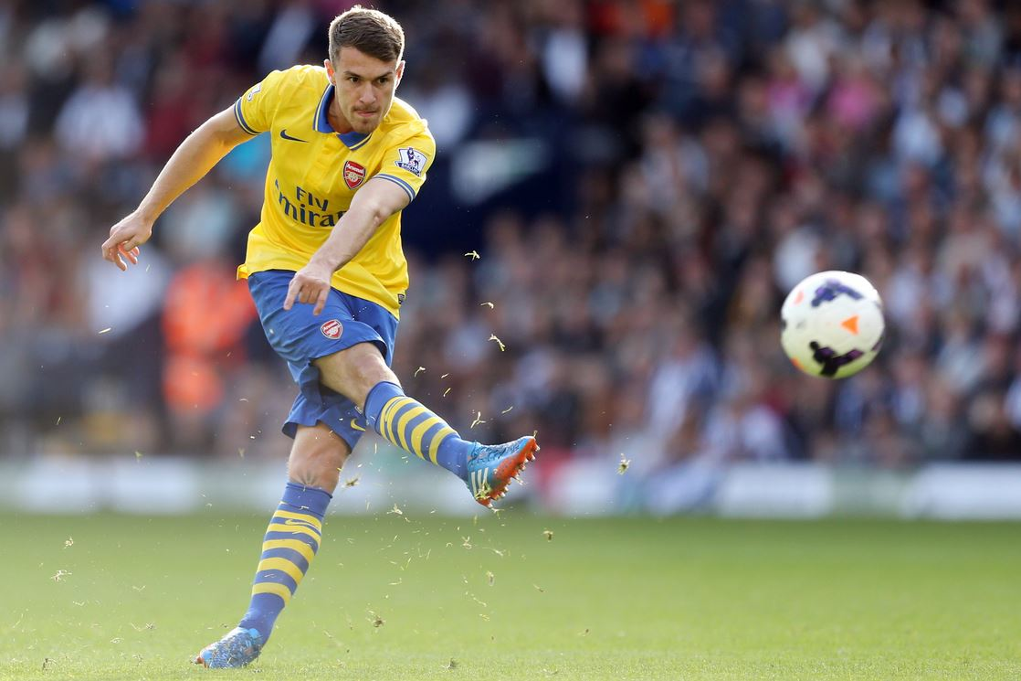 Aaron Ramsey looks to build on his blistering start to the season