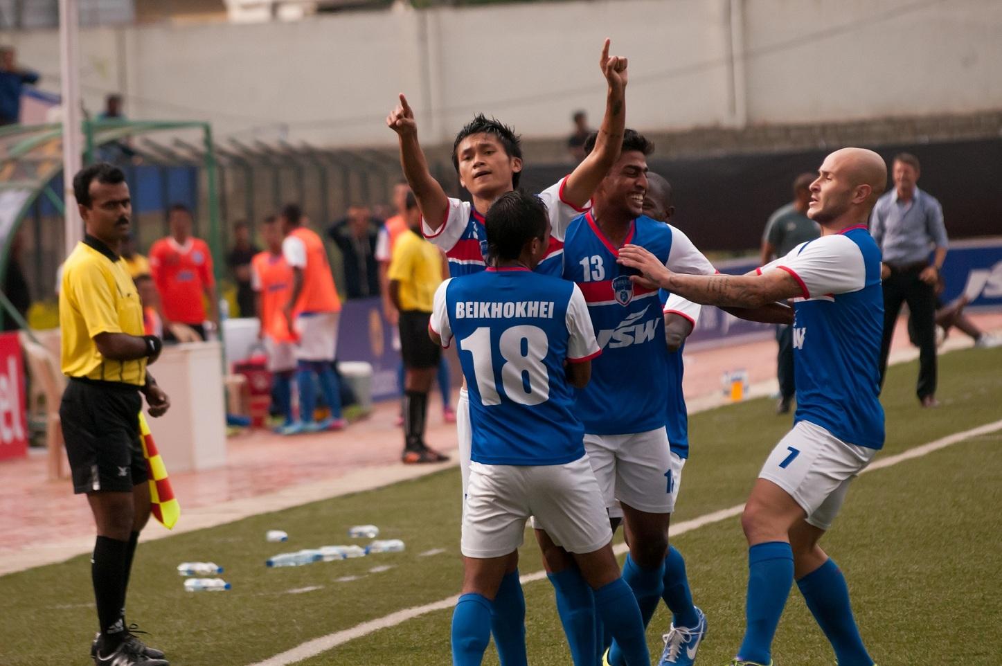 Can Bengaluru FC pass their first away test? Photo Credit: Bengaluru FC