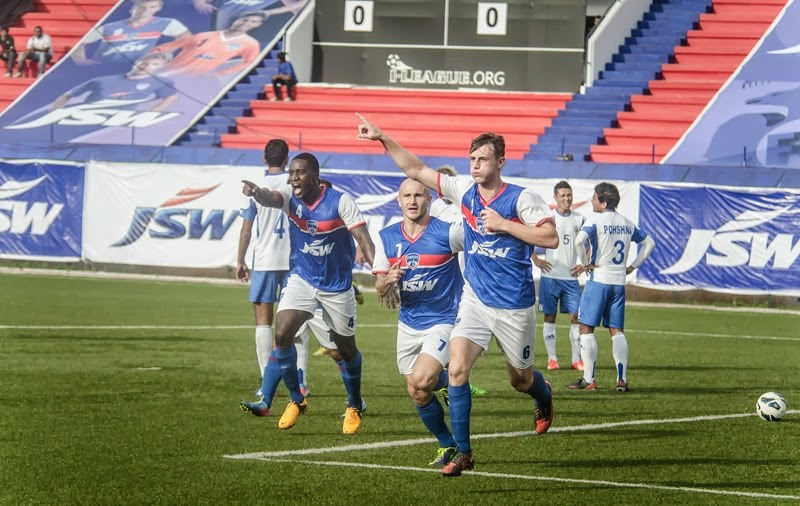 John Johnson has been the stand-out player for Bengaluru FC