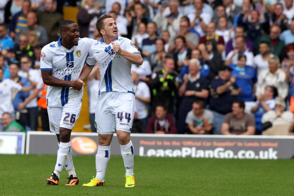 The goalscorers Dominic Poleon and Ross McCormack