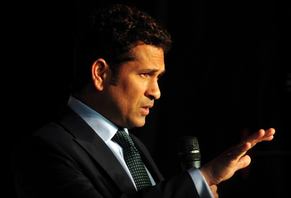 Indian cricket legend Sachin Tendulkar.