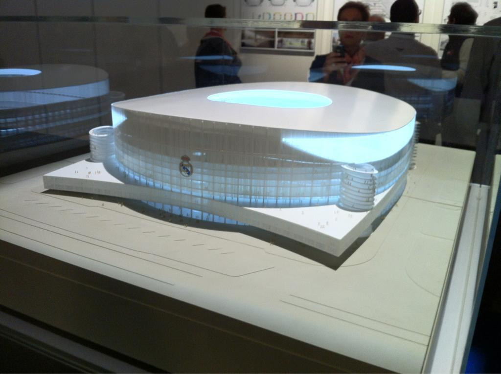 santiago bernabeu set to be remodelled by real madrid