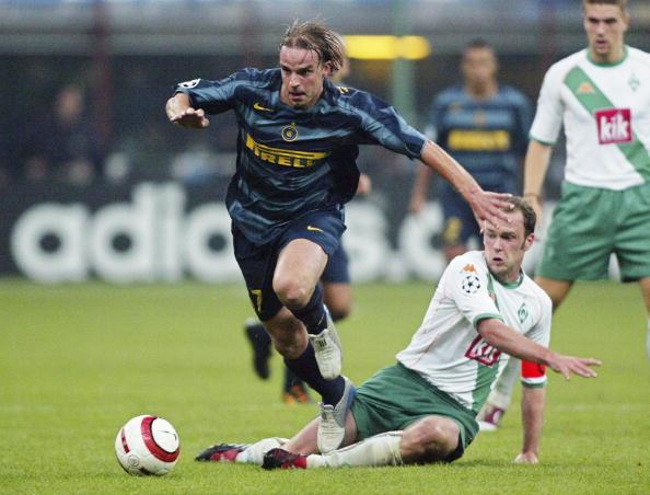 Fussball: CL 04/05, Inter Mailand-SV Werder Bremen