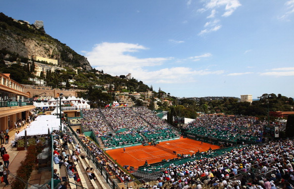Court Central, Monte Carlo Country Club is host to the Monte Carlo Masters.