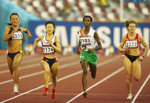 Santhi Soundarajan in 15th Asian Games Doha 2006