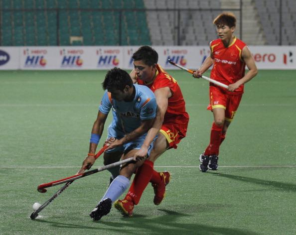 Manpreet Singh of India
