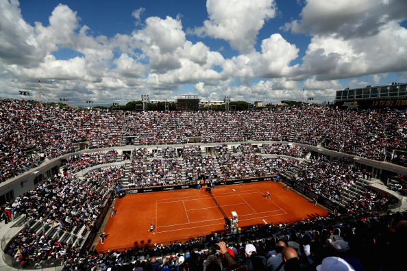 Foro Italico is the venue for the Italian Open and
