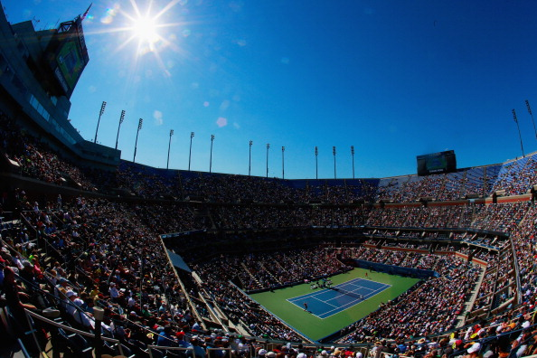Arthur Ashe Stadium is the biggest tennis stadium in the world.