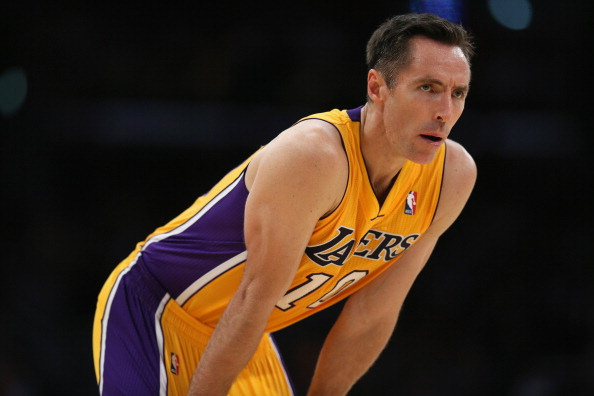It would be wise for the Lakers to trade Steve Nash