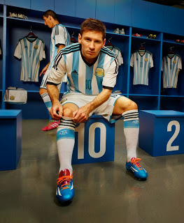 the latest 03709 3b3b7 Adidas launch new Argentinian national football team kit for ...