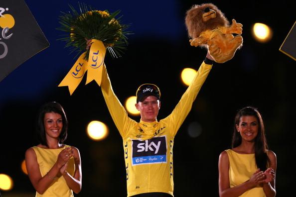 Chris Froome: the 2013 Tour de France winner