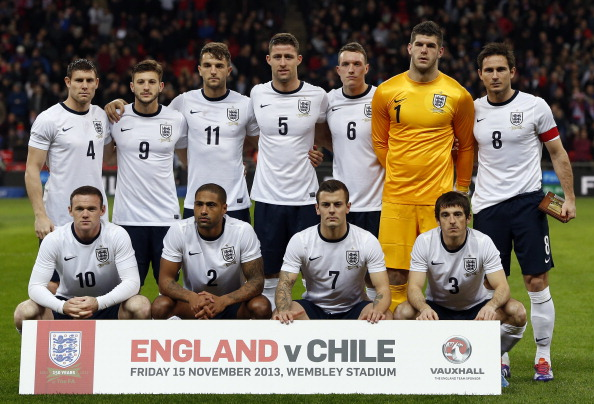 reputable site 39944 c28ea The future XI of the England National Football team