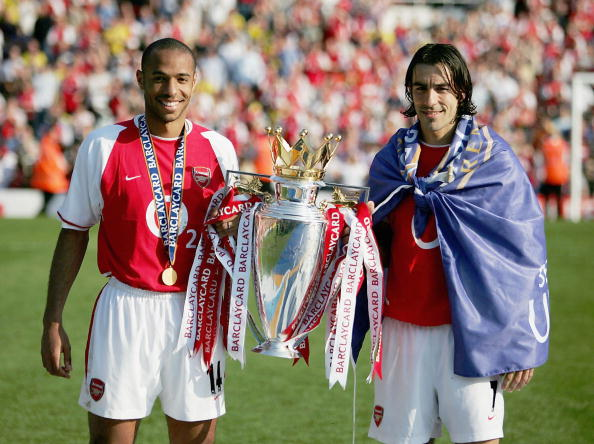 Thierry Henry and Robetr Pires were part of the great Arsenal team of 2003-04, known as the Invincibles