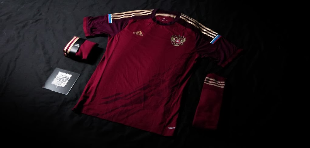 size 40 06003 b93aa Adidas presents new Russian national football team kit for ...