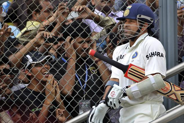 Sachin Tendulkar will walk out for the last time in Tests