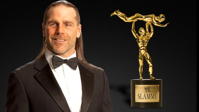 Shawn Michaels will present the Slammy for Superstar of the Year.