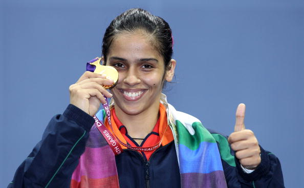 international events hosted by cricket and hockey world saina nehwal won badminton gold at the 2010 commonwealth games
