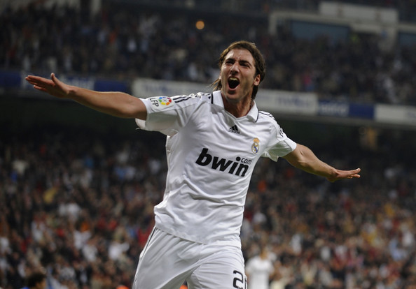Higuain – actually born to play for Real Madrid