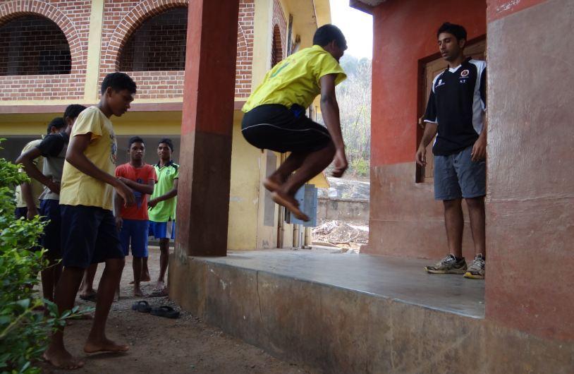 Suheil Tandon (R) Training