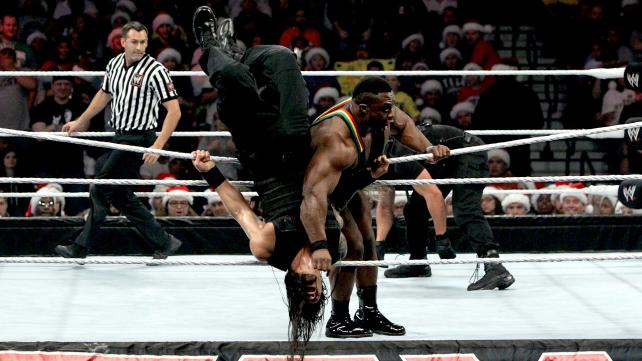 Image result for big e and roman reigns