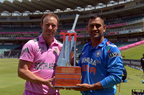 South African cricket team wearing pink jersey to celebrate 'Pink Day' in support of breast cancer