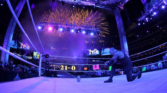 Undertaker Ring Exit