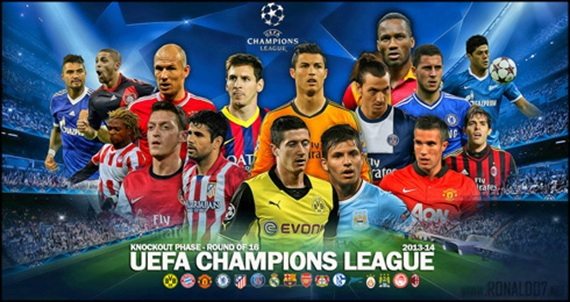 Uefa champions league 2013 2014 round of 16 a prediction voltagebd Choice Image
