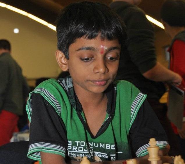 14-year-old chess prodigy Aravindh Chithambaram