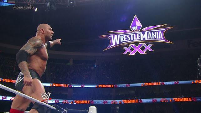 WrestleMania calling