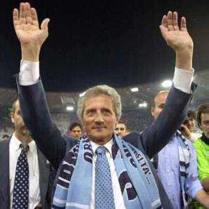 Lazio President Sergio Cragnotti was forced by his own fan base to withdraw the transfer of SIgnori to Parma in 1995 (Credit: www.sport.it)