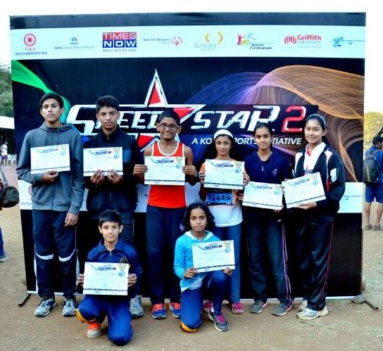 KOOH Sports finds Mumbai's Speedstars, 8 fastest sprinters
