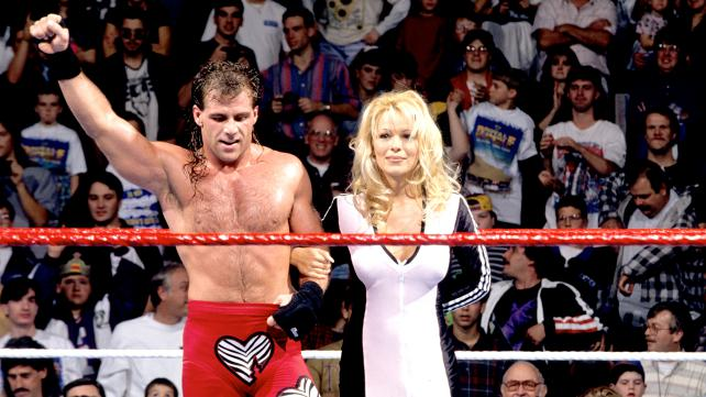 Shawn Micheals and Pamela Anderson