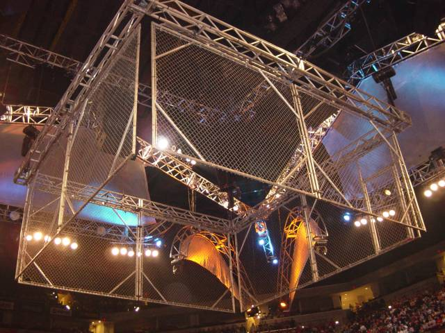 Steel Cage match for the WWE Tage Team Championship