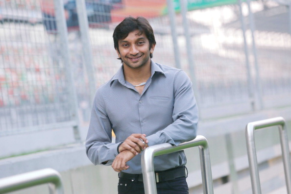 Profile Shoot Of Formula One Motor Racing Driver Narain Karthikeyan
