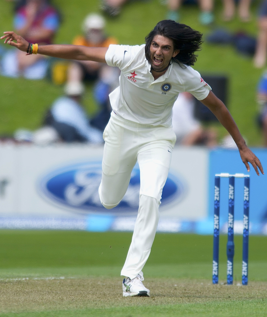 Ishant Sharma becomes 9th highest wickettaker for India in Test cricket