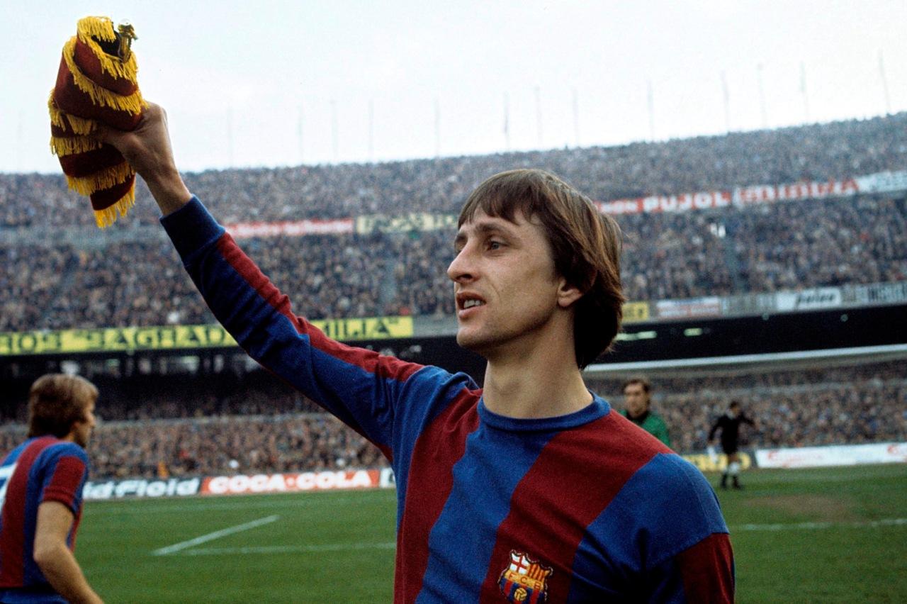 Johan Cruyff at Barcelona