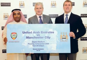 FYI Man City fans - Abu Dhabi is not a country, it's the capital of a country called the United Arab Emirates.
