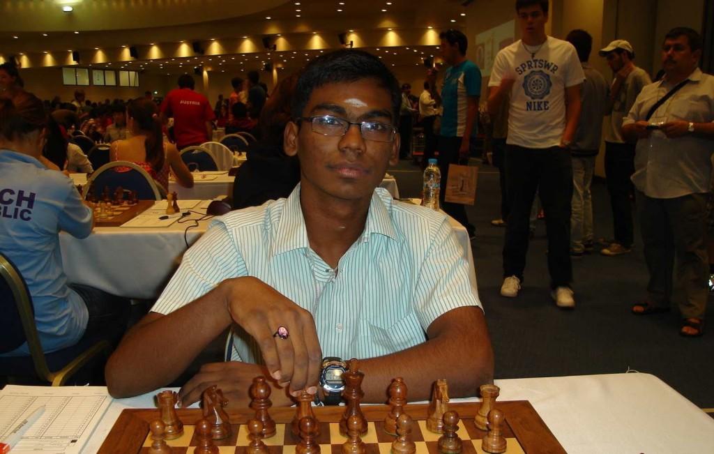 India's Grandmaster S P Sethuraman