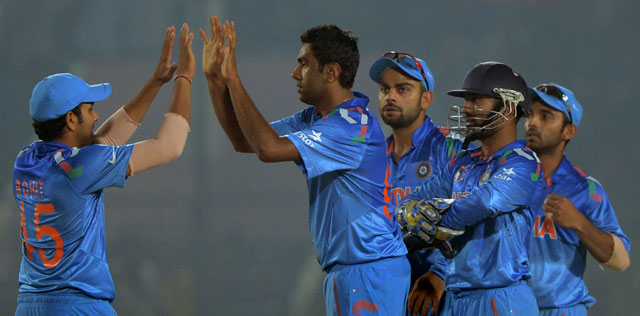 Ravichandran Ashwin bagged 100 ODI wickets