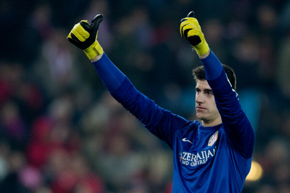 Courtois is one of the best young goalkeepers