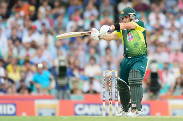 Aaron Finch is at the top of ICC T20 rankings