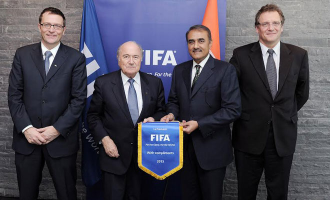Securing the hosting rights of the prestigious 2017 Under-17 FIFA World Cup was the lone silver lining in an otherwise disappointing and forgettable year gone by for Indian football.
