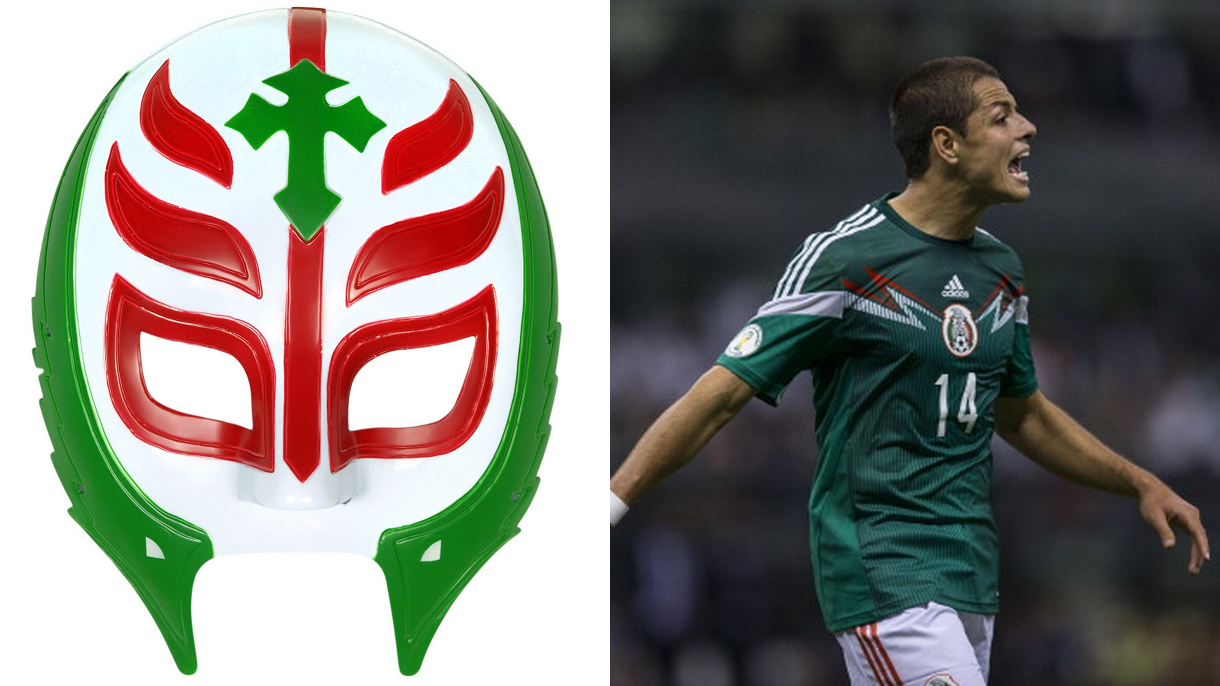 5926de09a Mexico Mysterio. You can see the various 2014 FIFA World Cup jerseys ...