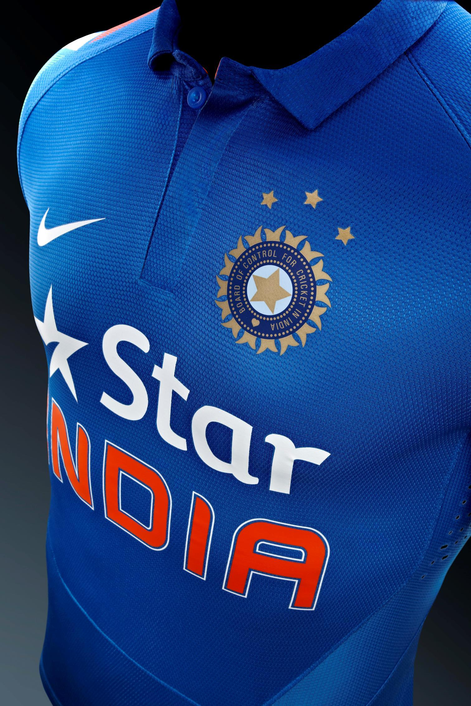 Nike Cricket Unveils New Team India Jersey